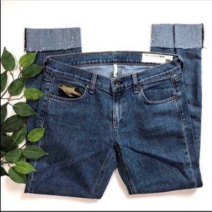 Rag & Bone Dre Boyfriend Camo Cropped Jeans